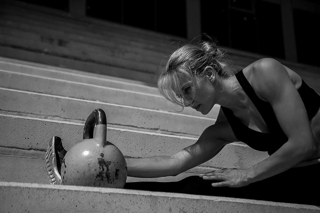 Image with kettlebell